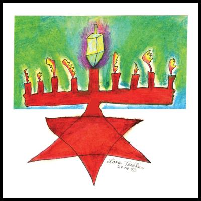 Chanukah Card - Style 1