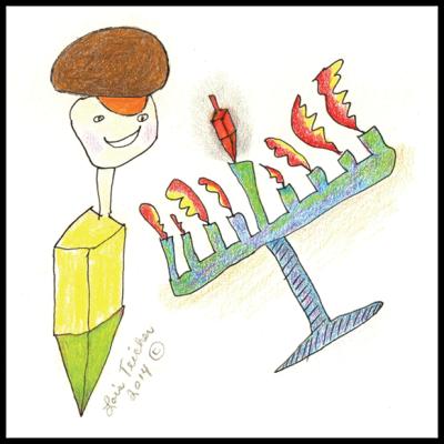 Chanukah Card - Style 2