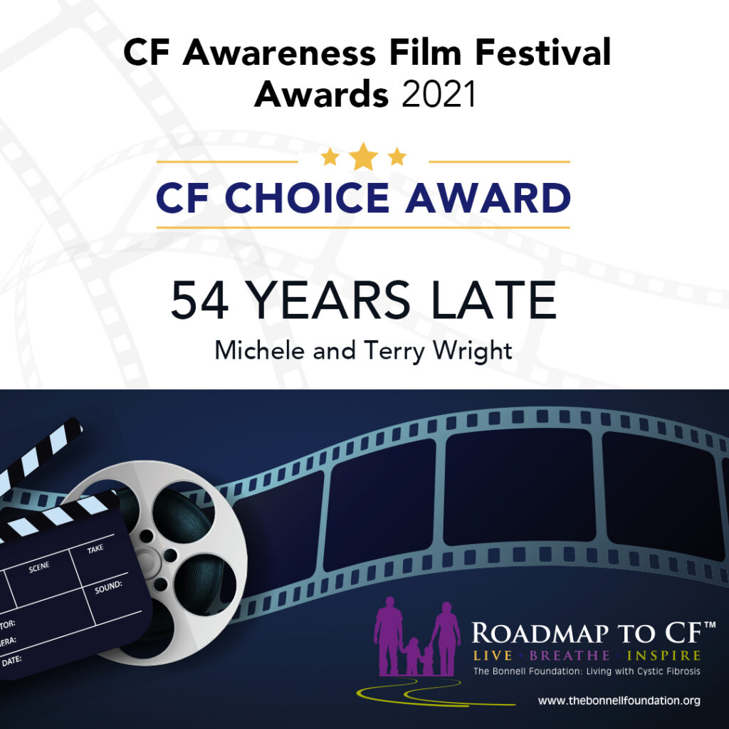 CF Choice Award: 54 Years Late, Michele and Terry Wright